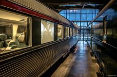 Trans europ express (Patrice Dx) Tags: train gare musée locomotives chemindefer sncb trainworld françoisschuiten garedeschaerbeek