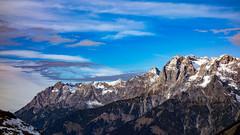 before the storm (bernd.kranabetter) Tags: skitourdientenamhochkönig kohlmannseck dienten sturm föhn wolken clouds