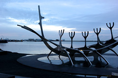 Sólfar (fordc63) Tags: iceland travel reykjavik sculpture boat ship viking art landmark sunvoyager