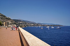 The sea at Monte Carlo (Yuri Rapoport) Tags: themediterraneansea 2012 montecarlo monaco