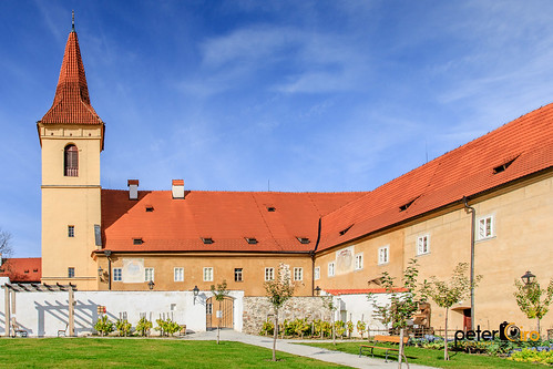 Minorite Monastery in Cesky Krumlov, Czech Republic. Circa 1375