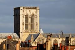 Central Tower, York Minster (robin denton) Tags: york historicbuildings history historicbritain minster yorkminster church cathedral tower