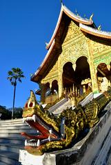 Luang Prabang (makingacross) Tags: laos pdr luang prabang luangprabang nikon d3000 louangphabang luangphabang phabang haw kham hawkham royal palace snake tree naga serpent