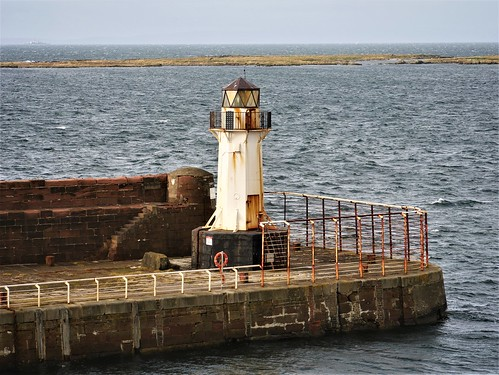 Ardrossan Harbour Lighthouse - Scotland
