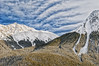 Rocky Mountain High (Quincey Deters) Tags: 2015 january â©quinceydeters allrightsreserved canada nature outdoor colourimage horizontal landscape mountain snow rock forest tree northamerica alberta jaspernationalpark jasper canadianrockymountains rockymountains day winter bluesky sky cloud wisps