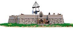 Fort Henri (Kolonialbeamter) Tags: lego ldd moc bobs oleon rntc lavalette