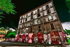 Are you curious? (Marco Trovò) Tags: marcotrovò hdr canon5d milano italia italy city street strada naviglio waterway graffiti mural murale casaabbandonata abandonedhouse