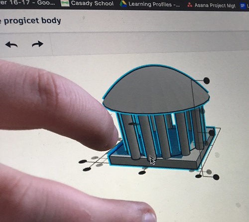 TinkerCAD Screen Design by Wesley Fryer, on Flickr