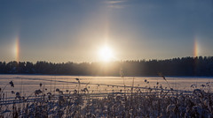 Parhelion over the lake (A. Stavrovich) Tags: parhelion sundog ngc hdr