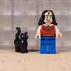 Wonder Woman (Busted.Knuckles) Tags: home toys lego minifigures wonderwoman cat canonsl1