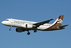 tsinetaalhr201010 (LHR Photos) Tags: tsine a320 libyan airlines lhr