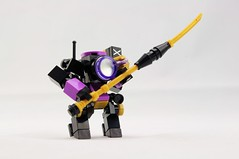 Vizier Guardian (Deltassius) Tags: mech mecha frame robot hardsuit lego space war military mobile zero magnifying glass microscale