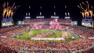 National Championship vs. Alabama by Mark McInnis Photos