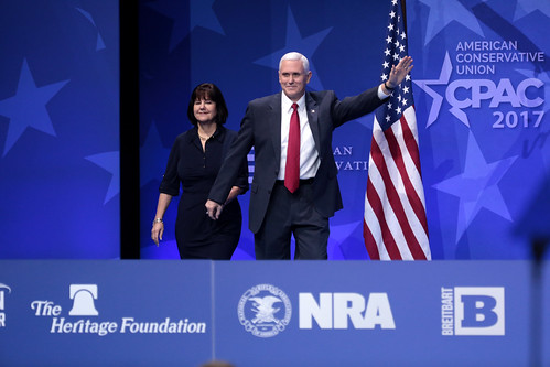 Karen & Mike Pence
