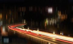 Artistic trails (Allan Jones Photographer) Tags: trails lighttrails light blur movinglights night nightlights bournemouth longexposure allanjonesphotographer nightphotography canon5d3 canonef24105mmf4lisusm flickrclickx