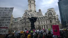 Rally in Philly around President Trump's visit