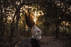 Outing. (tejally) Tags: people bokeh portrait nikon hairflip