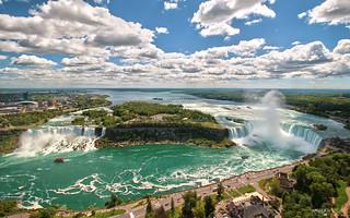 Skylon Tower Scenic View - Niagara Falls (Ontario, Canada)