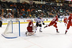 "Missouri Mavericks vs. Allen Americans, March 3, 2017, Silverstein Eye Centers Arena, Independence, Missouri.  Photo: John Howe / Howe Creative Photography • <a style=""font-size:0.8em;"" href=""http://www.flickr.com/photos/134016632@N02/33117918162/"" target=""_blank"">View on Flickr</a>"