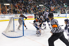 "Missouri Mavericks vs. Tulsa Oilers, March 5, 2017, Silverstein Eye Centers Arena, Independence, Missouri.  Photo: John Howe / Howe Creative Photography • <a style=""font-size:0.8em;"" href=""http://www.flickr.com/photos/134016632@N02/33158620102/"" target=""_blank"">View on Flickr</a>"
