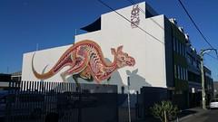 Nychos (Complete)...Collingwood, Melbourne... (colourourcity) Tags: streetart streetartnow streetartaustralia graffiti art awesome melbourne burncity colourourcity colourourcitymelbourne original since1977 nychos kanagroo roo bigred nychostheweird rabbiteyemovement