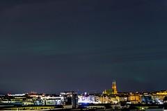 Aurora Borealis - Hornstull (photomatic.se) Tags: ifttt 500px liljeholmen stockholm sweden panoramic cloudscape aurora northern lights cityscape
