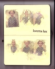 ...loretta lux (the3robbers) Tags: inspiration art moleskine sketchbook transfer solvent lorettalux linkr the3robbers