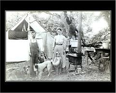 Great Grandparents (livininfrostytown) Tags: california old blackwhite grandparents 1900 frostytown flickrchallengewinner
