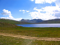 Sheosar Lake (Aawara) Tags: pakistan nature beauty north deosai skardu sheosar sheosarlake northpakistan deosaiplains