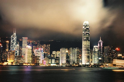 Hong Kong Skyline at Night by huipiiing, on Flickr