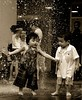 Chivalry? (... Arjun) Tags: boy bw 15fav water fountain girl monochrome sepia 1025fav 510fav movement nikon bravo singapore asia emotion d70s 2006 1870mmf3545g 2550fav 500v50f 50100fav 1000v100f tinted courtesy bugis loyalty politeness chivalry gallantry goodmanners 85points mireasrealm 100p 100200fav courtliness graciousness mireasrealmhalloffame anawesomeshot