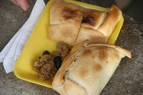 oven baked empanada