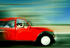 Speedy Red Citroen - by ExtremearQ