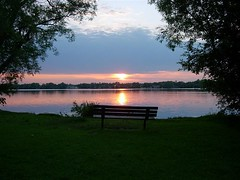 Wilcox Lake (khoosh) Tags: sunset toronto moments iran khashayar