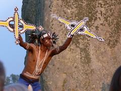 Aboriginal Ritual Dance at Stonehenge - by *Tom*