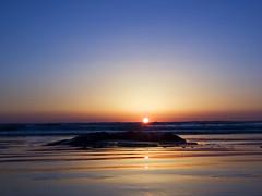 Sunset at Pismo Beach (Tonym1) Tags: ocean sunset beach pismo