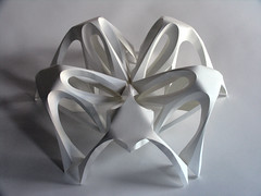 Work in progress (Richard Sweeney) Tags: sculpture art geometric paper paperart origami fineart craft folded organic paperfolding folding papercraft naturalform papersculpture artsculpture paperstructure origamicarchitecture richardsweeney architecturalorigami