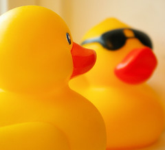 Congress bans phthalates from toys like rubber ducks.