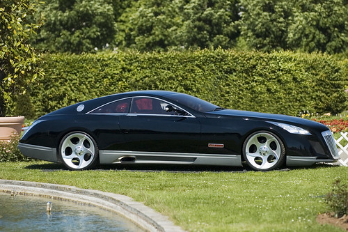 maybach exelero sideview - a photo on flickriver