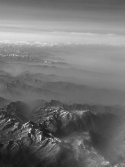 Great Alps... (sgrazied) Tags: light bw alps clouds plane landscape mood view noiretblanc neve alpi montagna aereo paesaggio muontain italybw interphoto