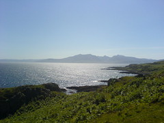Better view of Arran (solvo) Tags: friends sun nature walking islands landscapes hills adventures rothesay