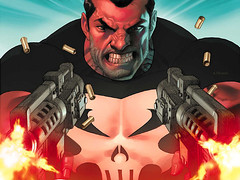 The Punisher Guns Blazing at Flickr.com