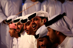 Traditional Trance (-ViDa-) Tags: wedding men dance dubai singing folk group uae band arab sing tradition traditionaldance