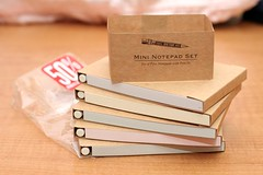 5 Mini Notepads 50% off