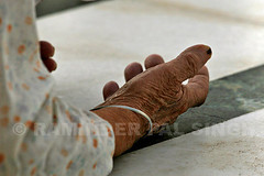 On Bended Knees (Raminder Pal Singh) Tags: pca age old prayer hands wrinkles floor india amritsar