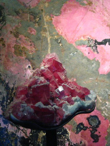 rhodonite and rhodochrosite minerals