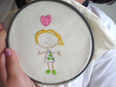 .: Dolly Embroidery .: (Warm 'n Fuzzy) Tags: cute handmade embroidery craft dolly warmnfuzzy warmnfuzzynet