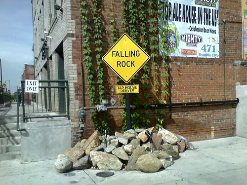 Falling Rock Tap House.