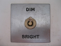 Dim or Bright? by Mr Jaded, on Flickr