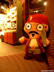 greetings from captain jack sparrow!! ^o^/ (woolloomooloo) Tags: cute toy disney woolloomooloo starbucks kawaii coolpix johnnydepp nikondigital rollinghills piratesofthecaribbean missingyou captainjacksparrow pirateofthecaribbean pirateplush mcdonaldshappytoy 30faves30comments300views